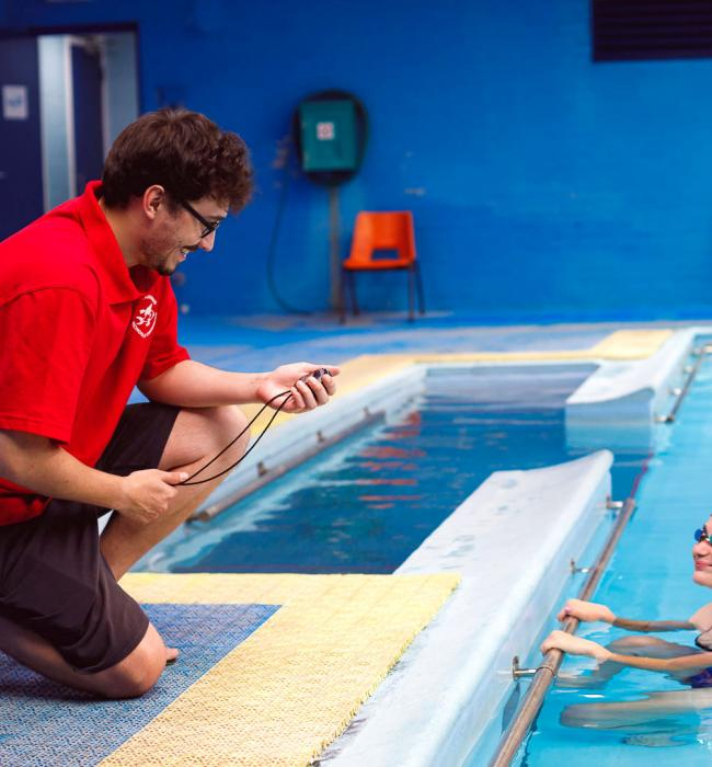 All teachers are Level 2 Swim Teacher qualified